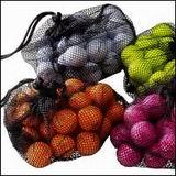 Barevné golfové míče BALLS GI - 2-vrstvé Golf míčky:  ŽLUTÉ, Růžové