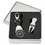Golf hodinky s počítadlem rán a vypichovátko s markovátkem na magnet