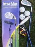 Dětské golfové hole, golf set Junior - základní sestava + golf míče aj.