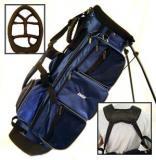 Velký Golf Stand Bag ZUCCI - modrý nebo zelený!