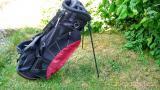 Golf Stand Bag REGAL ULTRA - černá-modrá nebo černá-červená bordo