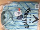 CALLAWAY Pánská košile s krátkým rukávem - POSLEDNÍ KUSY