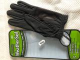 Golf rukavice - FJ Weather SOF FootJoy - černá, pánská