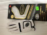 LONGRIDGE golf dámská rukavice s Markovátkem - bílá, Cabretta Leather, kůže