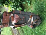 TOP RARITA - AUTENTICKÝ HAND MADE USA GOLF BAG BUSHWHACKER BELDING SPORTS - Vintage, Luxusní značka