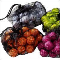 BAREVNÉ golfové míčky GOLF BALLS -   ŽLUTÉ, Růžové nebo oranž - SLEVA - zvětšit obrázek