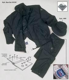 Voděodolná bunda a kalhoty PGA Tour - AKCE - zvětšit obrázek