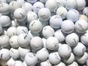 Hrané Golfové cvičné míčky - B, mix značky - SLEVA - zvětšit obrázek