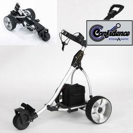 Confidence elektro golfový vozík - skládací el.golf vozík - zvětšit obrázek