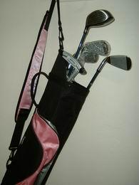 Golf In Starter set - dámský, ocel nebo grafit - s bagem - zvětšit obrázek