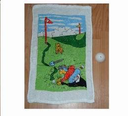 MAGIC Golf BALL - golfový ručníček v golfovém míčku - zvětšit obrázek