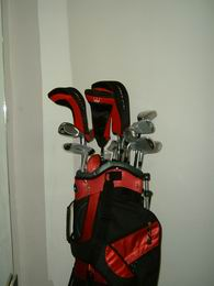 Golf set Regal POWER PLUS Men GOLF set -grafit/ocel - výběr barvy bagu! - zvětšit obrázek
