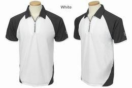 Golfové polo PGA Tour Cooltex zip - různé barvy, moderní - AKCE JARNÍ ÚKLID - zvětšit obrázek