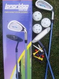 Dětské golfové hole, golf set Junior - základní sestava + golf míče aj. - zvětšit obrázek