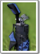 Golf set + golf obuv nebo tričko a čepice! Kompletní Golf vybavení GD1 - SUPER AKCE!   Kompletní golf výbava - hole,  bag,  OBUV - zvětšit obrázek
