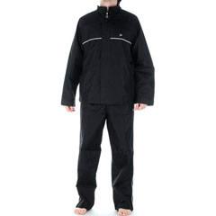 Voděodolná Souprava do deště SPORT - bunda a kalhoty , černá nebo modrá- VÝPRODEJ - zvětšit obrázek