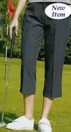 Dámské golf kalhoty 3/4 , bílá, korálová nebo tm.šedá - SLEVA! - zvětšit obrázek