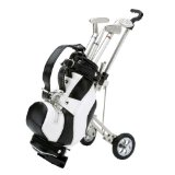 Golf dárek - golf propisky v mini golf bagu a mini golf vozík  - zvětšit obrázek