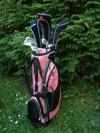 Dámský půl Golf Set XTP Lady Rose,Blue nebo Black + Dárek - AKCE BLACK FRIDAY - zvětšit obrázek