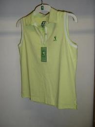 Lady PGA golf polo bez rukávu - Apple Collection - zvětšit obrázek