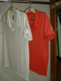 Dámské golf polo s rukávem DRY FIT - LPGA - bílá nebo korálová - zvětšit obrázek
