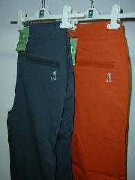 Golfové kalhoty dámské strečové - cihlová nebo tm.šedá- VÝPRODEJ - BLACK FRIDAY - zvětšit obrázek