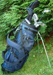Golf set XTP  EXTREME  Men RH set s MID FIRM FLEX - OCEL nebo GRAFIT, pánský golfový set - AKCE  TOP SLEVA + golf dárek - zvětšit obrázek