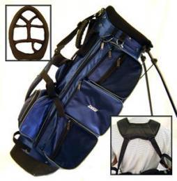 Velký Golf Stand Bag ZUCCI - modrý nebo zelený! - zvětšit obrázek