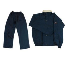 Voděodolná bunda a kalhoty St.Andrews - pánská, černáok golf kalhoty proti dešti - černá nebo modrá - zvětšit obrázek