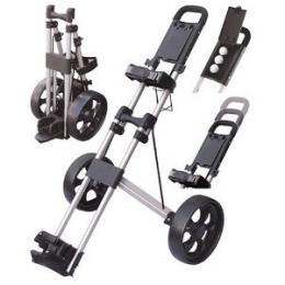 Super skládací golf vozík 2 - rámový Longridge Twin Frame - hliníkový - zvětšit obrázek