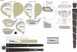 Luxusní dámský  golf set  XTP LADY GOLF deluxe bag - NEW - zvětšit obrázek