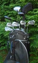 Prodloužený Golf rozšířený půl set Long + 1 inch  REGAL MONARCH - 7 holí + bag - zvětšit obrázek