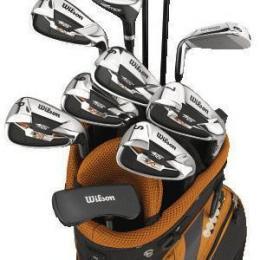 Prodloužený Golf set  + 1 inch nebo REGULAR délka Wilson - LEVÁK nebo PRAVÁK - VÝPRODEJ - zvětšit obrázek