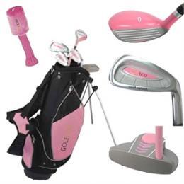 Dětský golf set - Golf Girl - dívčí golfový set  4-7let nebo 8-12let - zvětšit obrázek