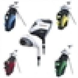 Dětský golf set  LEVÁK nebo Pravák - VÝBĚR BARVY BAGU ! - zvětšit obrázek