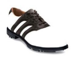 Golf boty Adidas Z Traction 3 stripe - bez spajků nebo se spiky, kožené- JARNÍ ÚKLID  - zvětšit obrázek