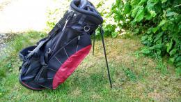 Golf Stand Bag REGAL ULTRA - černá-modrá nebo černá-červená bordo - zvětšit obrázek