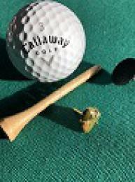 Golf markovátko - přírodní kámen Unakit - NOVINKA! ruční práce!  - zvětšit obrázek