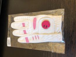 Junior dětská golf rukavice - s markovátkem smajlík - zvětšit obrázek