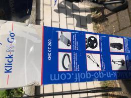 KLICK-N-GO - skládací golf vozík GOLF TROLLEY - SLEVA - zvětšit obrázek