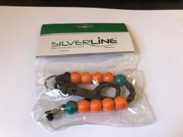 Golf počítadlo rán - kuličky, Silverline - zvětšit obrázek