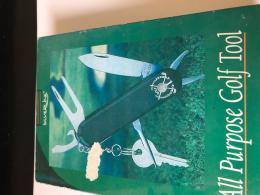 Golf kapesní nožík - golfové doplňky, otvírak láhví GOLF TOOL - zvětšit obrázek