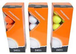 Prossimon ŽLUTÉ golf míčky - 24 ks  - zvětšit obrázek