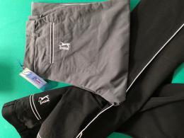 Kalhoty na golf PGA Tour logo (golfista) - černá nebo ocelově šedá - AKCE - zvětšit obrázek