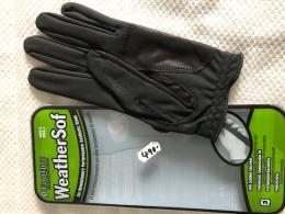 Golf rukavice - FJ Weather SOF FootJoy - černá, pánská - zvětšit obrázek