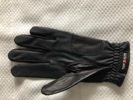 Golf rukavice Dámská TOP FLITE s markovátkem  - černá - zvětšit obrázek