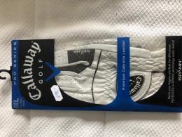 CALLAWAY Pro Serries pánská golf rukavice PREMIUM LEATHER, kožená - zvětšit obrázek