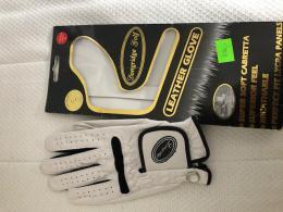 LONGRIDGE golf dámská rukavice s Markovátkem - bílá, Cabretta Leather, kůže - zvětšit obrázek