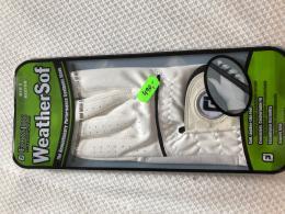 Golf rukavice FOOTJOY pánská, bílá  - zvětšit obrázek