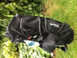 WILSON GOLF STAND BAG lehký a velmi praktický- černý - SLEVY - zvětšit obrázek